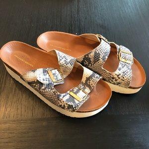 53ef0b43d81cc Kurt Geiger Platform Sandals Size 10